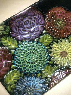 Ceramic Jewelry, Ceramic Beads, Ceramic Clay, Porcelain Ceramics, Ceramic Pottery, Pottery Art, Ceramic Wall Art, Ceramic Decor, Bijoux Art Deco