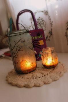 snujolins world: DIY: Lantern for Halloween