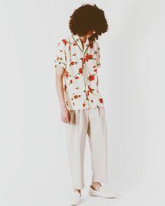McMarden Floral Shawl Collar/Union Los Angeles