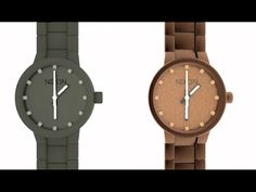 """This is """"Nixon Watch"""" by Manuel Radl on Vimeo, the home for high quality videos and the people who love them. Wood Watch, Watches, Accessories, Wooden Clock, Clocks, Clock"""
