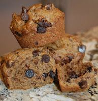 SHORTBREAD: Fat Free Banana Chocolate Chip Muffins