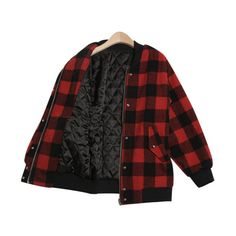 Check Me Out Jacket (€86) ❤ liked on Polyvore featuring outerwear, jackets, tops, coats and checkered jacket