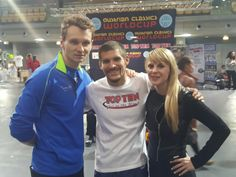 Levente, Jack Felton (USA) and Lisa