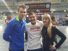 Levente, Jack Felton (USA) and Lisa
