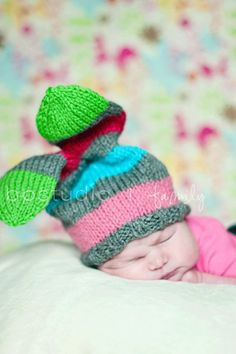 Yep. Definitely knitting a few of these for some babies. Too cute!