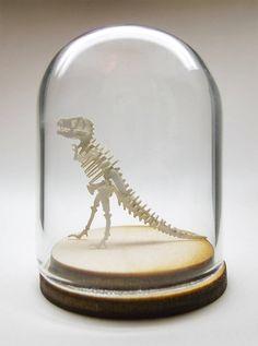 Para aqueles que adoram miniaturas, como este que vos fala, o pessoal da Tinysaurs colocou a venda vários modelos de esqueletos em miniatura bem bacanas, que você recebe o kit por $ 25,55 e monta e…