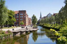 Aarhus River by Mølleparken