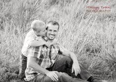 dad and son photo Father's Day portrait photography idea