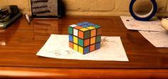 Isto NÃO é um cubo mágico...