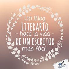 Un #Blog #Literario es como la #hadamadrina de los #cuentos, te ayuda en el camino que existe después de publicar.