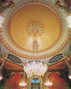 Royal Pavilion Music Room Ceiling