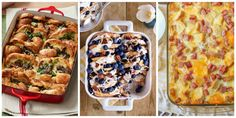 Here's a must-read article from Country Living:  50 Best-Ever Breakfast Casserole Recipes