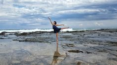 Enjoying all that the Great Ocean Road has to offer 013816 #travel #greatoceanroad #dancer by tiffanyofalltrades