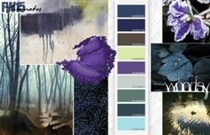 Fall / Winter 15/16 Color Inspirations - intimates colors