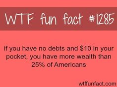 WTF Fun Facts is updated daily with interesting & funny random facts. We post about health, celebs/people, places, animals, history information and much more. New facts all day - every day! Scary Facts, Wow Facts, Wtf Fun Facts, True Facts, Funny Facts, Random Facts, Random Stuff, Random Things, How Rich Are You