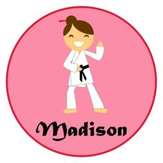 Adorable Personalized Martial Arts by siblingspecialtees, $17.00