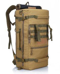 Сумки, рюкзаки, портфели, кошельки, клатчи, бумажники, ремни.: 2017. LOCALLION N329. Новый многофункциональный военный тактический рюкзак 50L. Армейская сумка , мешок для походов, туризма, альпинизма, охоты, рыбалки и т. д.