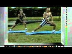 http://www.getrippedabs.net/lose-weight.php?gr=8minabs2 8 Minute Stretch, awesome vintage workout video from the mid 1990's.