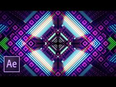 Фрактальные кубы в After Effects и Cinema 4D - YouTube