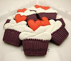 BarraDoce.com.br - Confeitaria, Cupcakes, Bolos Decorados, Docinhos e Forminhas: Tutorial: Biscoito de Cupcake