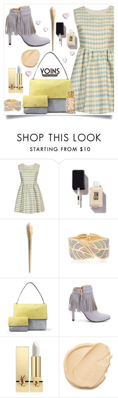 """""""Yoins 50"""" by captainsilly ❤ liked on Polyvore featuring Yves Saint Laurent and Tory Burch"""
