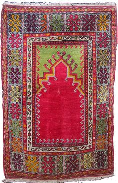 Turkish prayer rug.