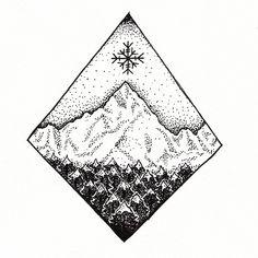 Dotwork tattoo for a friends #heygraphic #illustration #illustrazione…