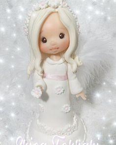 #angel #love #pink #porcelanafria #adornodetortas #instagood