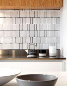 glass pavilion, tile backsplash, modern kitchen