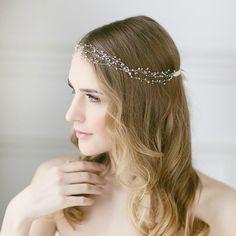 Delicate Pearl Wedding Vine | LavenderByJurgita