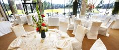 Wedding Reception in the Lakeview Ballroom at Kingwood Country Club. #Weddings #Reception