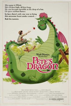Pete's Dragon 1977! Oh how I loved this movie ......I remember watching it on the Disney Sunday Night Movie back when they still did it...wish they would bring that back!