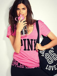 Love ALL PINK clothes from VS!!!