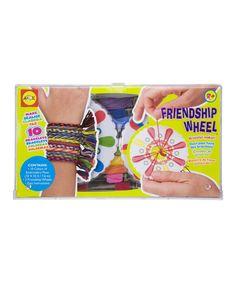 Another great find on #zulily! ALEX Friendship Wheel Bracelet Maker Set by ALEX #zulilyfinds