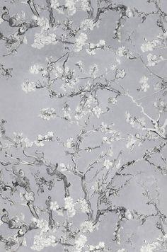 VanGogh Blossom | Papel de parede dos anos 70