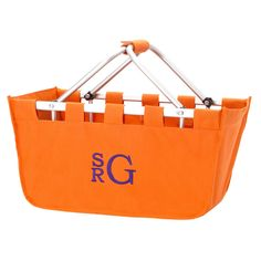Personalized Large Market Basket Gift Tote
