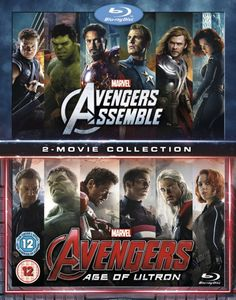 Avengers Age Of Ultron/Avengers Assemble Doublepack [Blu-ray] [2015] [Region Free]