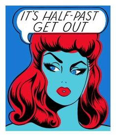 Half Past Get Out print by Niagara