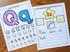 Alphabet Notebooks w