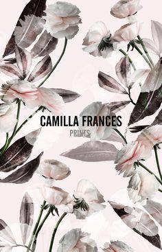 { digital floral print } Camilla Frances Prints