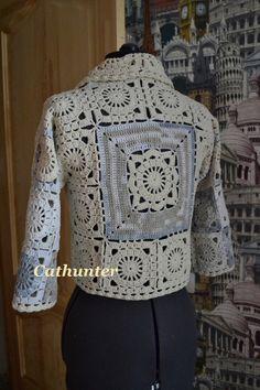 Crochet jacket: pattern