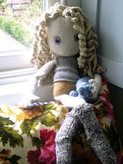 Ravelry: Pixie - new knitted doll pattern by Claire Garland