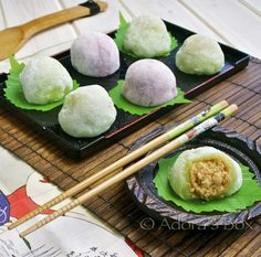PEANUT BUTTER MOCHI - gluten free (even if it says glutinous rice flour its gluten free I promise) (Butter Mochi Holidays) Butter Mochi, Mochi Cake, Mochi Recipe, Delicious Desserts, Dessert Recipes, Sushi, Peanut Butter Filling, Asian Desserts, Japanese Sweets