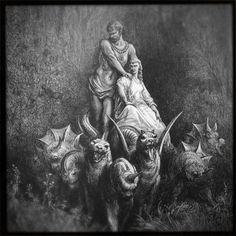 Gustave Dore Illustrations Of Dante's Divine Comedy - MetaMythic