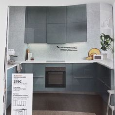 Kallarp ikea kitchen ideas pinterest cabinets mint - Ikea revetement mural cuisine ...