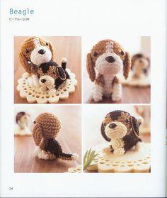 1000+ images about Schemi di cani amigurumi on Pinterest ...