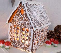 Peberkage hus (Gingerbread houses) dengodefeen.blogspot.dk