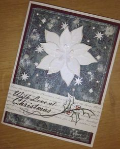 Kika's Designs : White Poinsettia