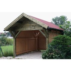log car port | Home › Carports › Bertsch › Bertsch Carport Premium 340 x 430