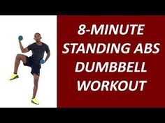 The Amazing Standing Abs Workout with Dumbbells In this article, you will discover the best standing abs workout with dumbbells to tighten your midsection and make your abs pop Standing Ab Exercises, Standing Abs, Stretching, Lower Belly Workout, Lower Ab Workouts, Tummy Workout, Toning Workouts, Bikini Workout, Dumbbell Workout For Beginners